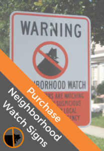 Purchase NNW.org Neighborhood Watch Signs