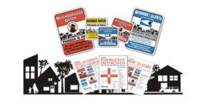 Neighborhood Watch Signs & Starter Kits